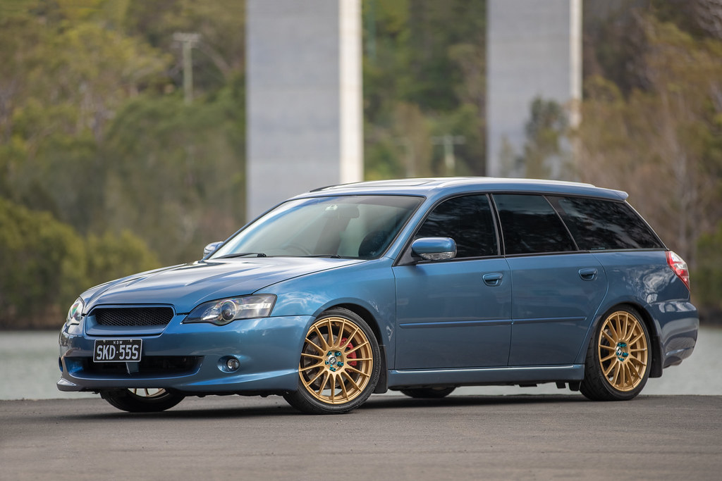 James' Subaru Liberty 3 0R-B Wagon