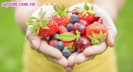 Một chế độ ăn lành mạnh sẽ giúp bạn kiểm soát tốt bênh hở van tim