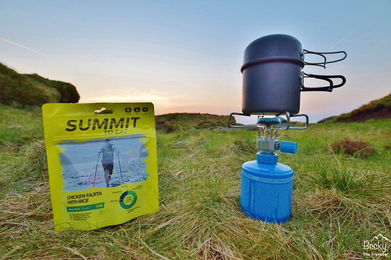 Summit to Eat - camping stove