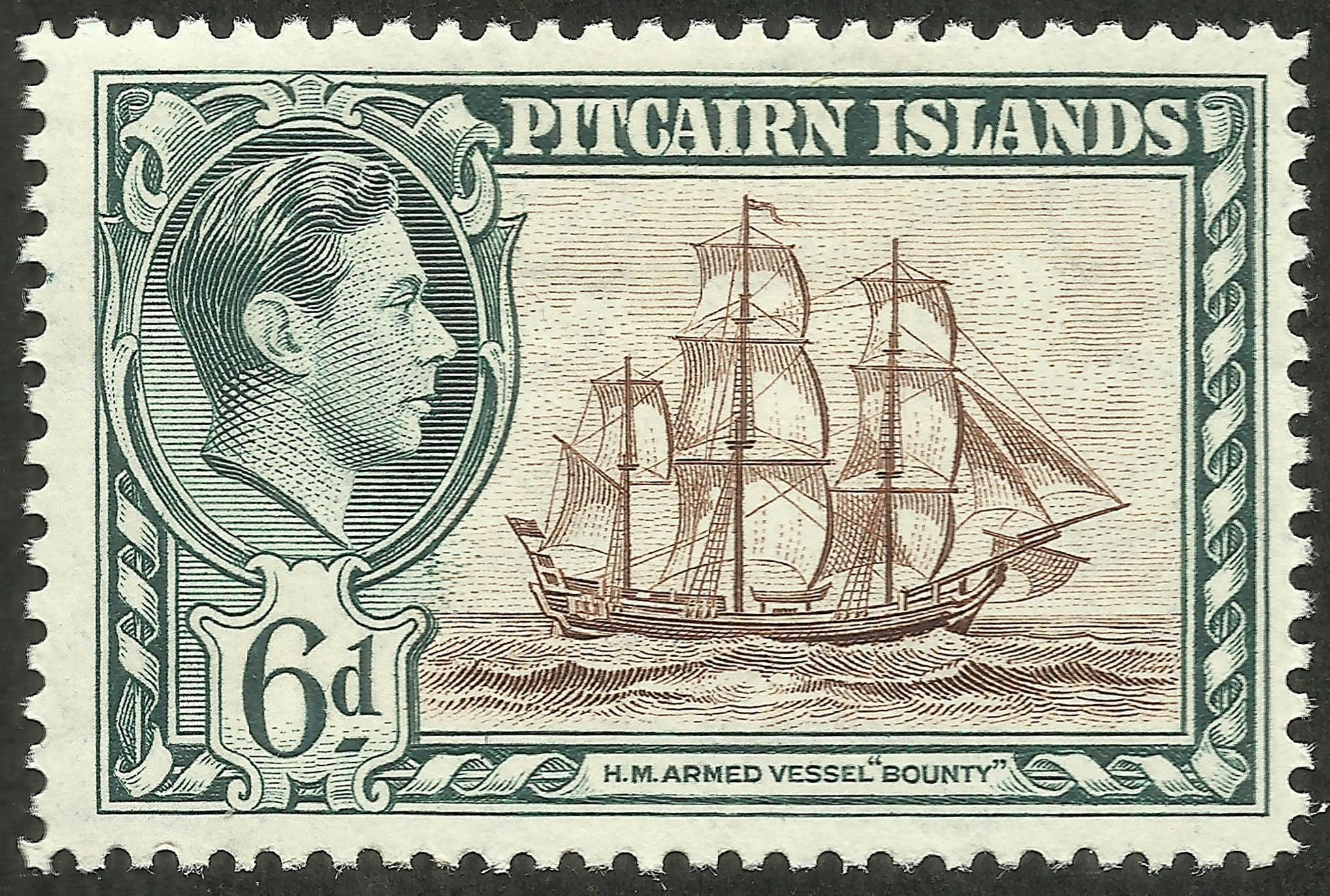 Pitcairn Islands - Scott #6 (1940)