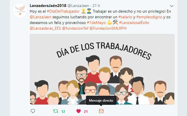 1 De Mayo 2018- Mensajes de Lanzaderas