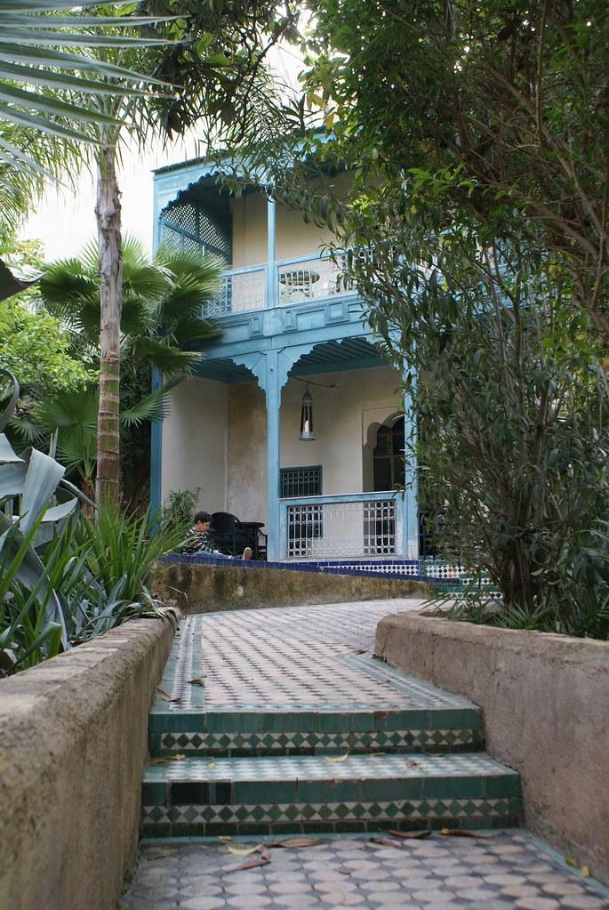 Maisons d'hôtes du jardin de Biehn à Fès.