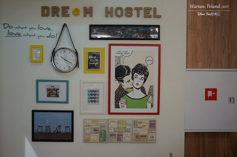 2017 Europe Warsaw Dream Hostel 06