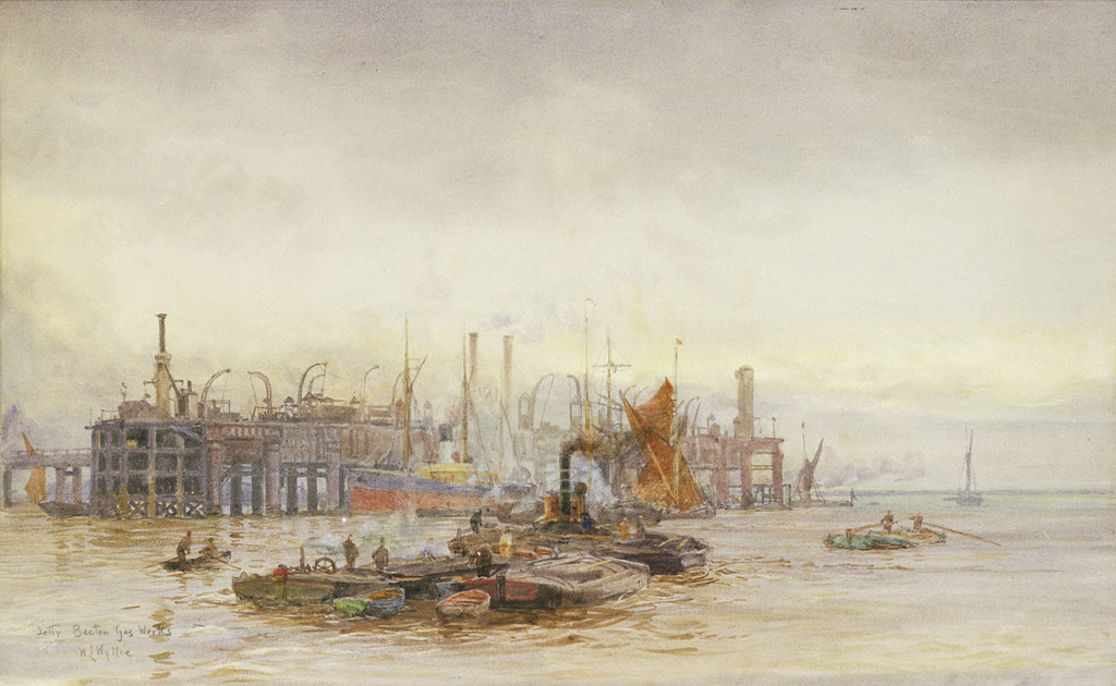 """Jetty Becton Gasworks"" (1905)"