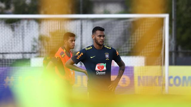 Seleção Sub-20: terceiro dia de treinos em São Paulo