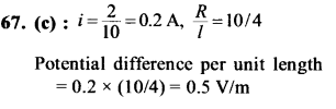 NEET AIPMT Physics Chapter Wise Solutions - Current Electricity explanation 67