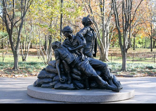Vietnam Women's Memorial by Glenna Goodacre
