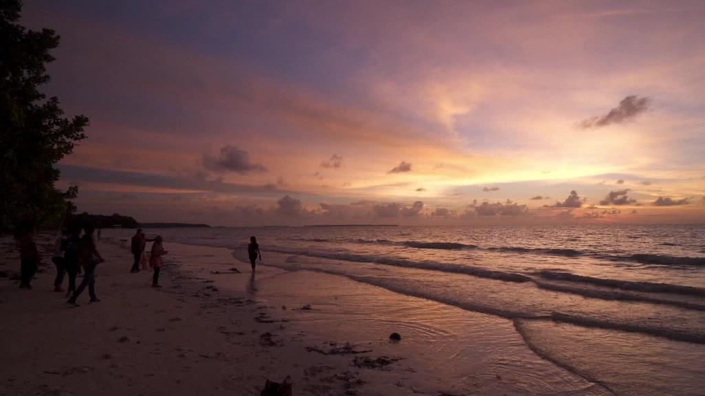 Sunset at Ngurbloat Beach, Kei Kecil, Maluku