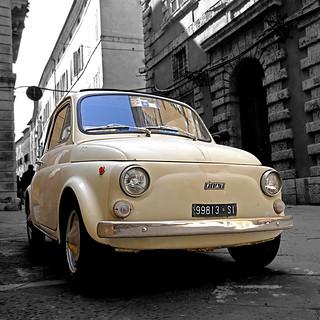 Fiat 500 - Siena