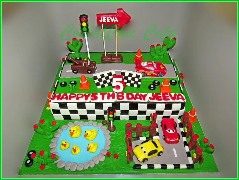 Cake Disney Cars JEEVA 18x27 cm