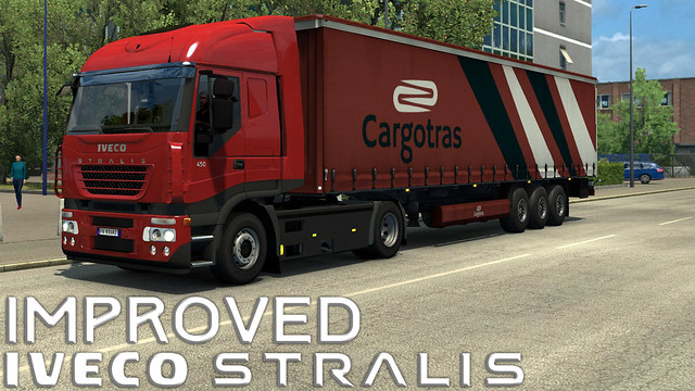 Improved Iveco Stralis Truck v1.2 by AlexeyP (1.31.x)