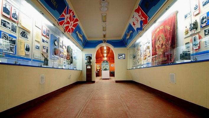Soviet submarine S-56 museum in Vladivostok, Russia.
