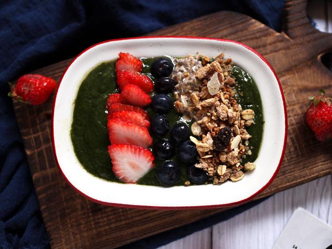 綠果昔碗 green-smoothie-bowl (7)