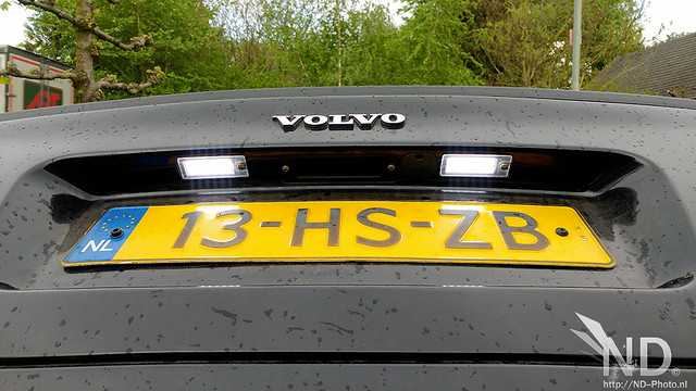 Volvo S80 2.4T LED License Plate Lights