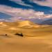 Mesquite Flat Sand Dunes Gathering Thunder Storm! Death Valley National Park Fine Art Landscape  Photography! High Resolution California Desert Landscape Photos! Dr. Elliot McGucken High Res American West Landscape & Nature Fine Art by 45SURF Hero's Odyssey Mythology Landscapes & Godde