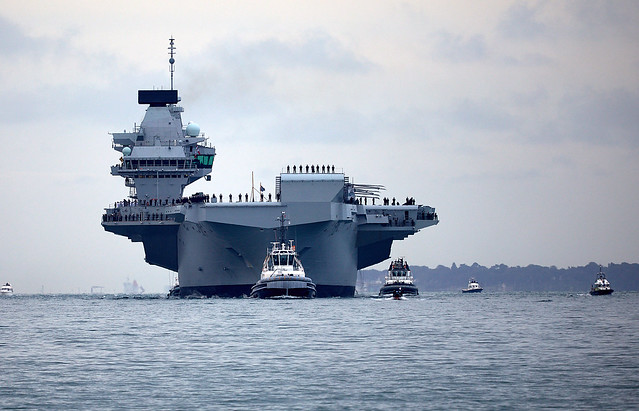 HMS Queen Elizabeth, Canon EOS 5D MARK IV, Canon EF 100-400mm f/4.5-5.6L IS USM