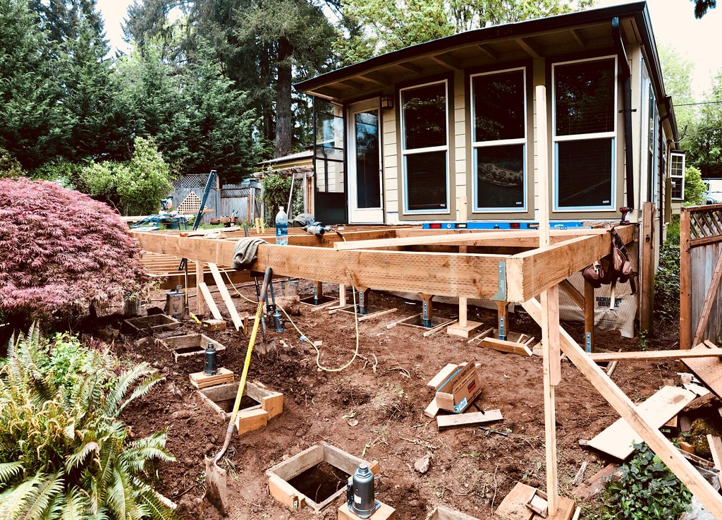 Our deck project