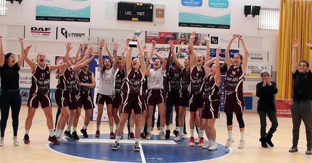 Final a Quatre C.C. Cadet Femení Preferent 2017-18
