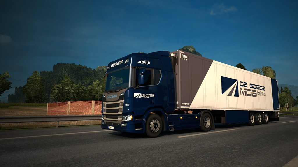 MDG Logistics - ProMods 2 30 Bèta on 1 31 - Download Photo