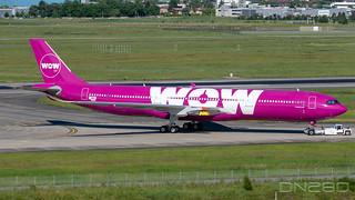 WOW A330-941 msn 1870
