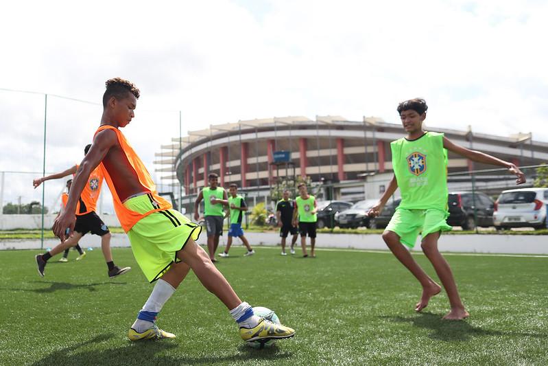 Festival de Futebol do CBF Social em Belém