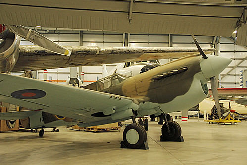 Curtiss P-40 Kittyhawk Mk.1a at the CASM, Ottawa