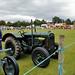 Antique Tractors at Highland Games Scotland