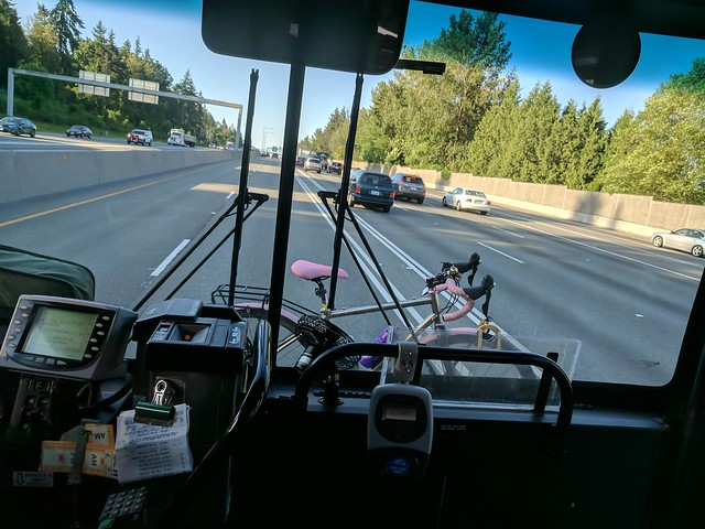 Diary of a Commute Bike: On the Bus
