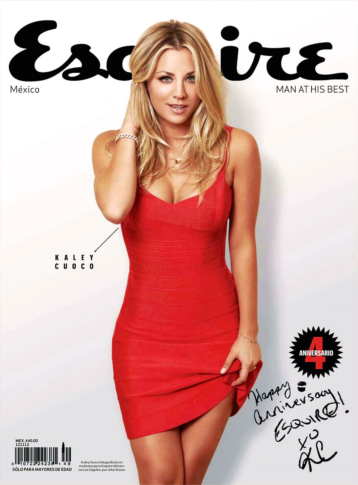 Kaley Cuoco - Esquire