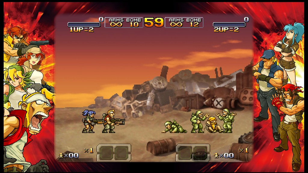 Metal Slug XX: Scanlines Off