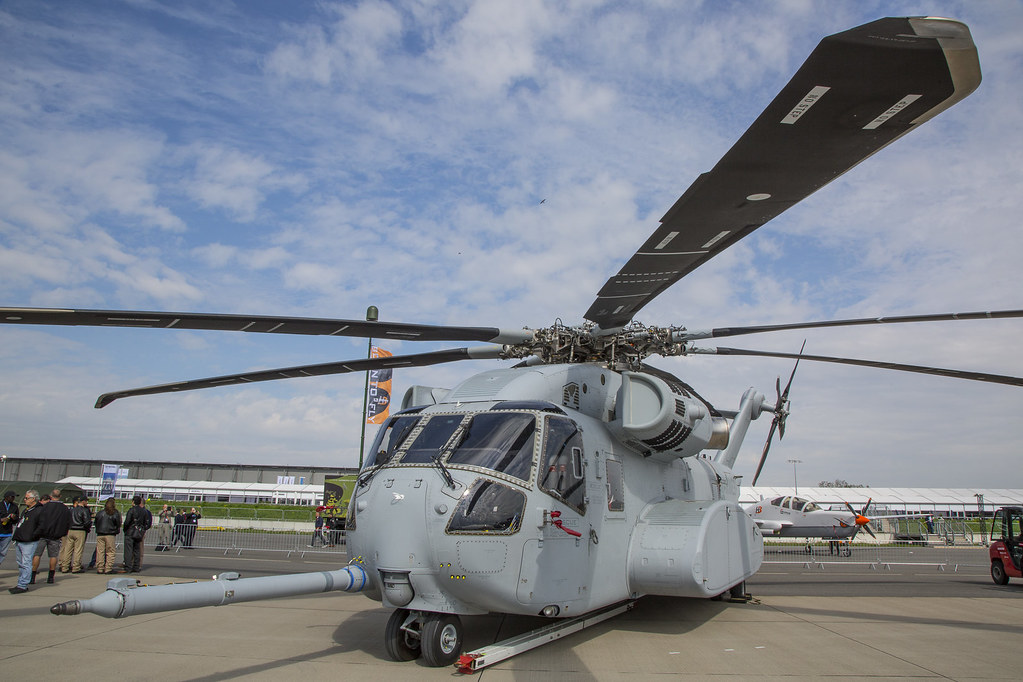 April 25: CH-53K at Opening Day for ILA Berlin