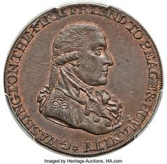 Washington Grate Cent obverse