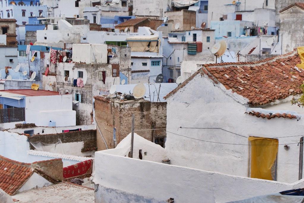 """Chefchaouen : Un """"village blanc"""" avant d'être la ville bleue."""