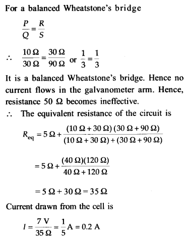 NEET AIPMT Physics Chapter Wise Solutions - Current Electricity explanation 10.1