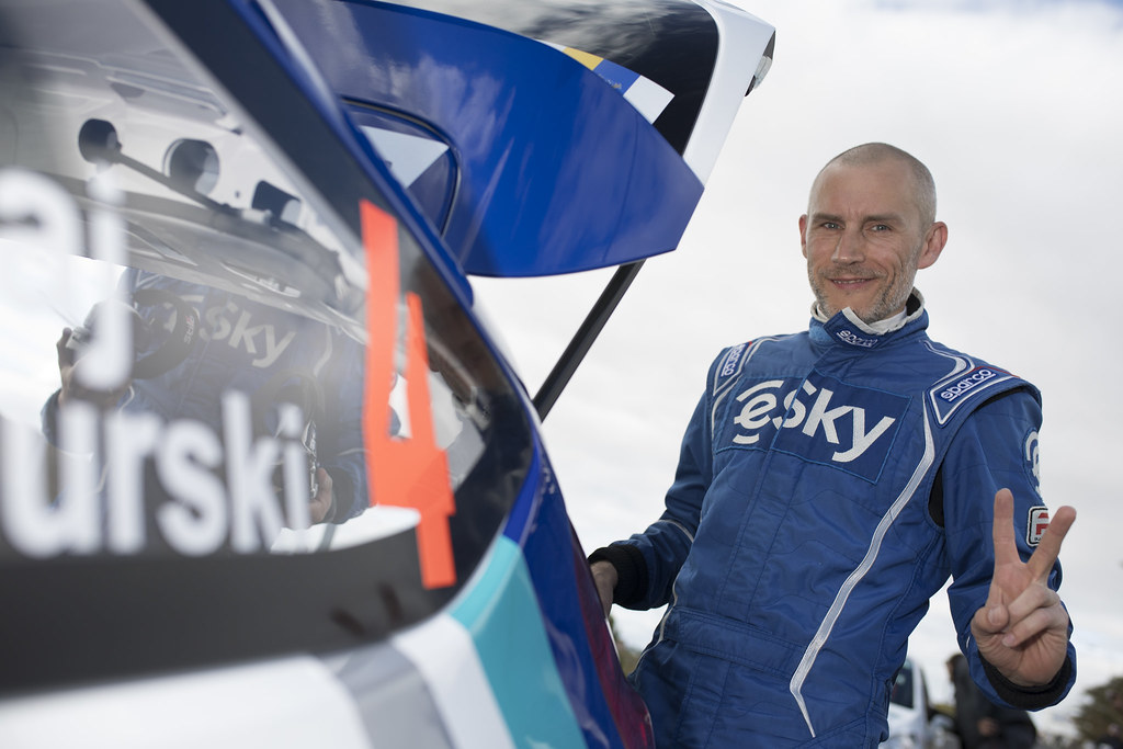 HABAJ Lukasz (pol), DYMURSKI Daniel (pol) , RALLY TECHNOLOGY, FORD FIESTA R5, portrait during the 2018 European Rally Championship ERC Rally Islas Canarias, El Corte Inglés,  from May 3 to 5, at Las Palmas, Spain - Photo Gregory Lenormand / DPPI
