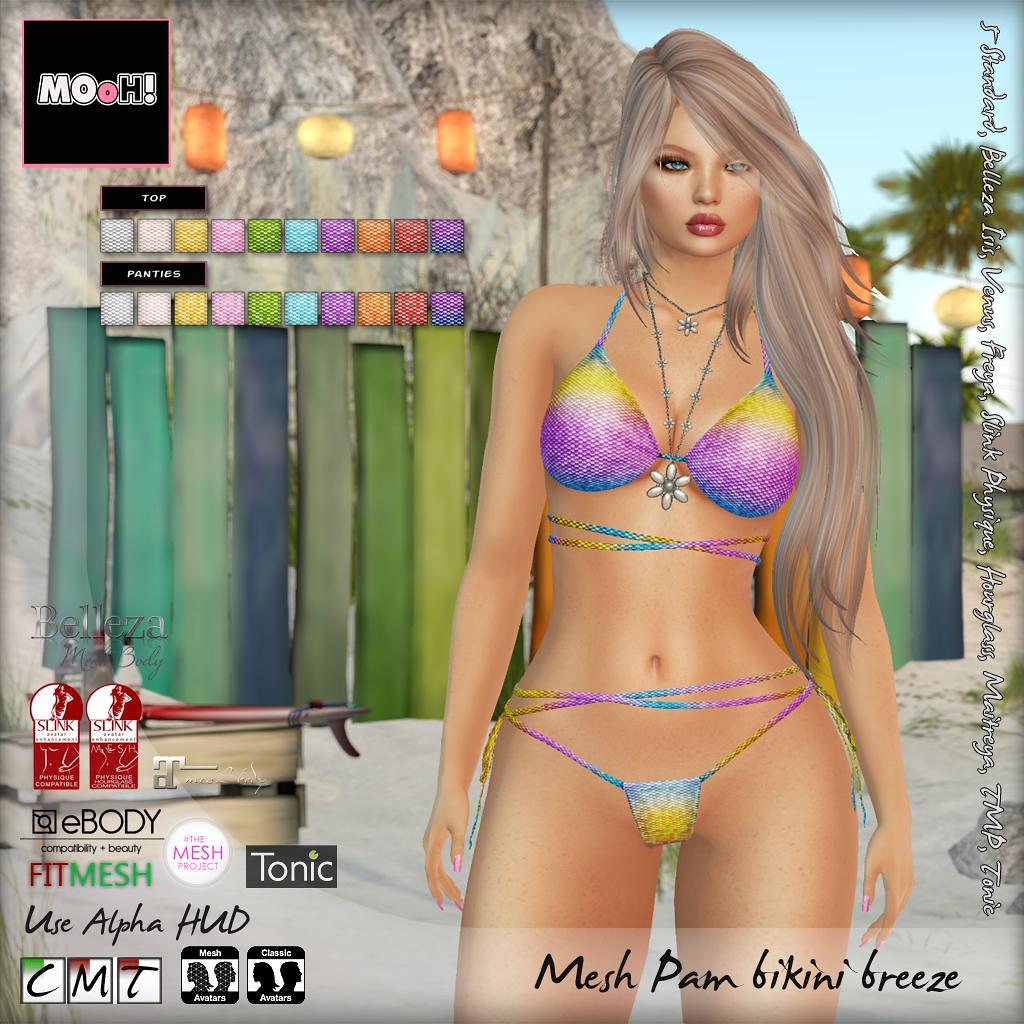 Pam bikini breeze