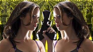 Summer Glau TSCC Cameron army duel