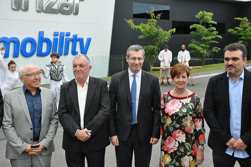 Irizar e-movility-ren inaugurazioa. 2018