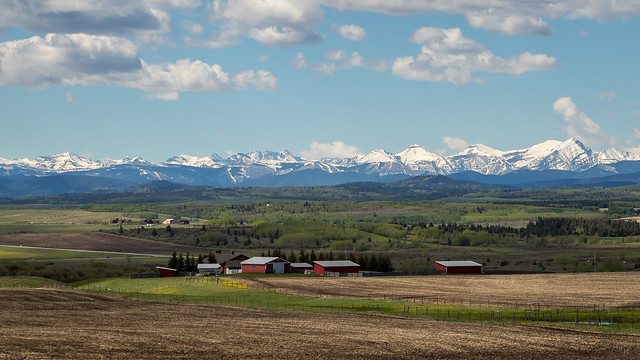Canadian Rockies in the Distance