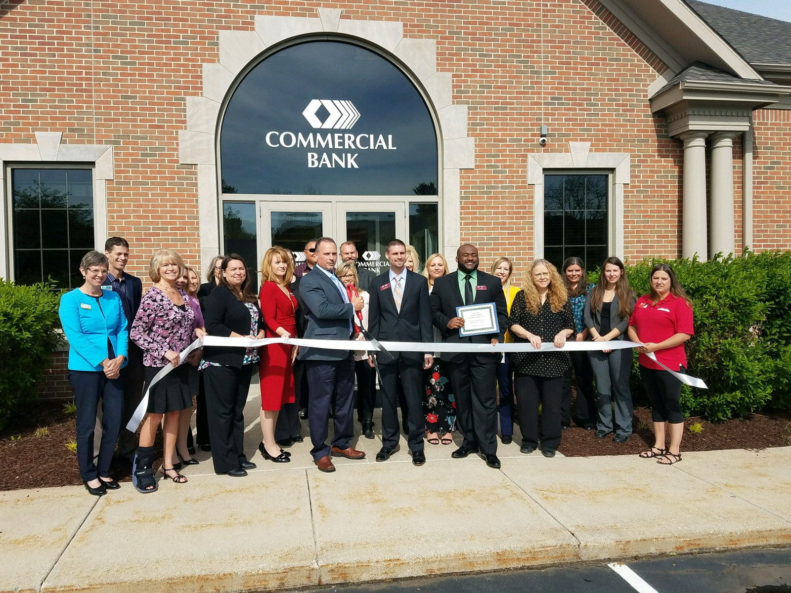 Commercial Bank Unveils Okemos Branch