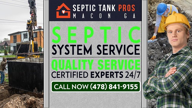 Septic System Service Macon GA | Call (478) 841-9155