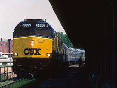 CSX P962-05 Kentucky Derby Train at Frankfort, Kentucky on May 5, 2001