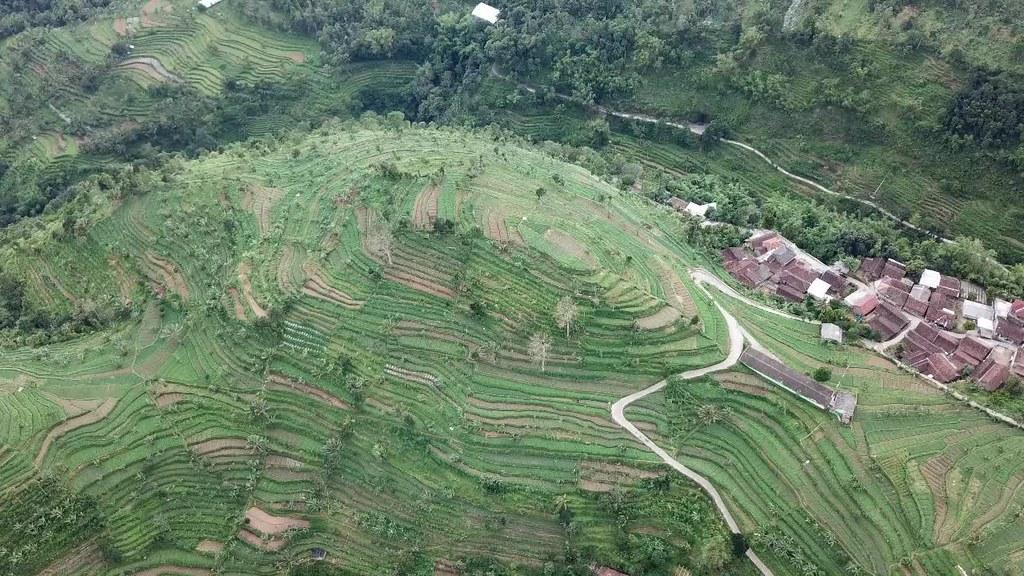 Ungaran Landscape, Near Umbul Sidomukti, Semarang