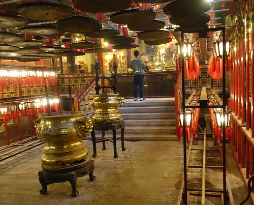 Man Mo Temple, on Hollywood Road in Sheung Wan. From History Comes Alive in Hong Kong