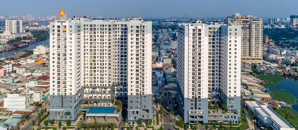 Chung cư M-One Bế Văn Cấm, Tân Kiểng, quận 7, TP.HCM mới bàn giao vào sử dụng.