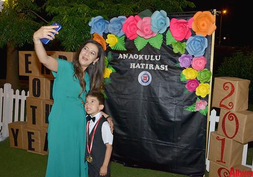 Bil'li küçükler mezun oldu