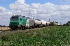 BB 75066 aprèsla sortie de Bagneaux - Photo of Quiers