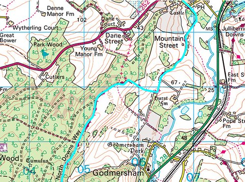North_Downs_Way_Map_Chilham