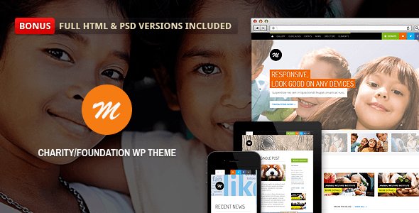 Mission v2.4.2 – Responsive WP Theme For Charity