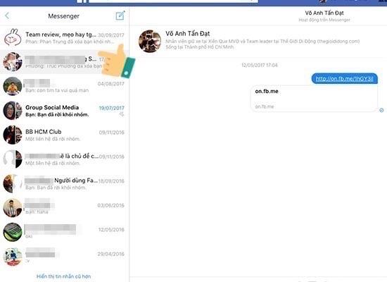 phần mềm khôi phục tin nhắn đã xóa vĩnh viễn trên facebook